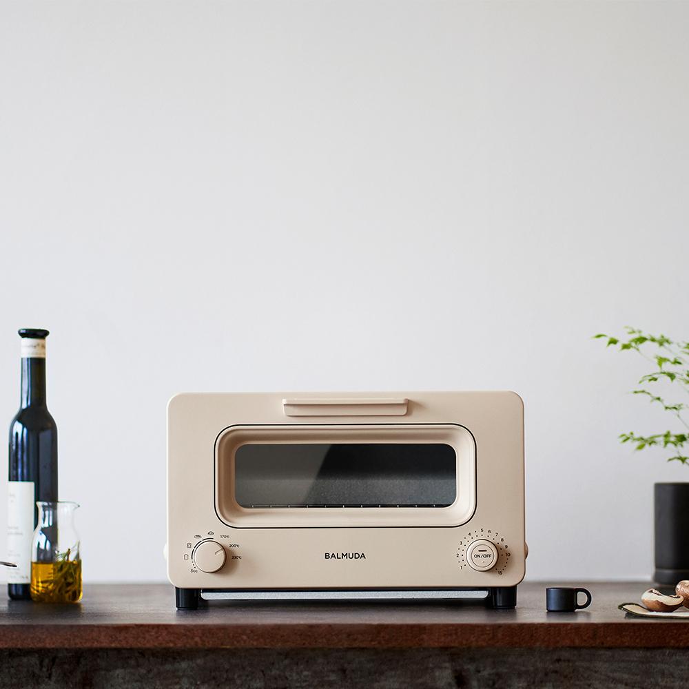 K05C-BG 【註冊贈果醬】蒸氣烤麵包機 奶茶限定色