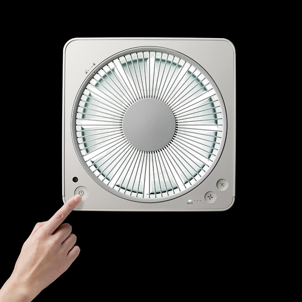 A01D-WH 二代空氣清淨機+循環扇