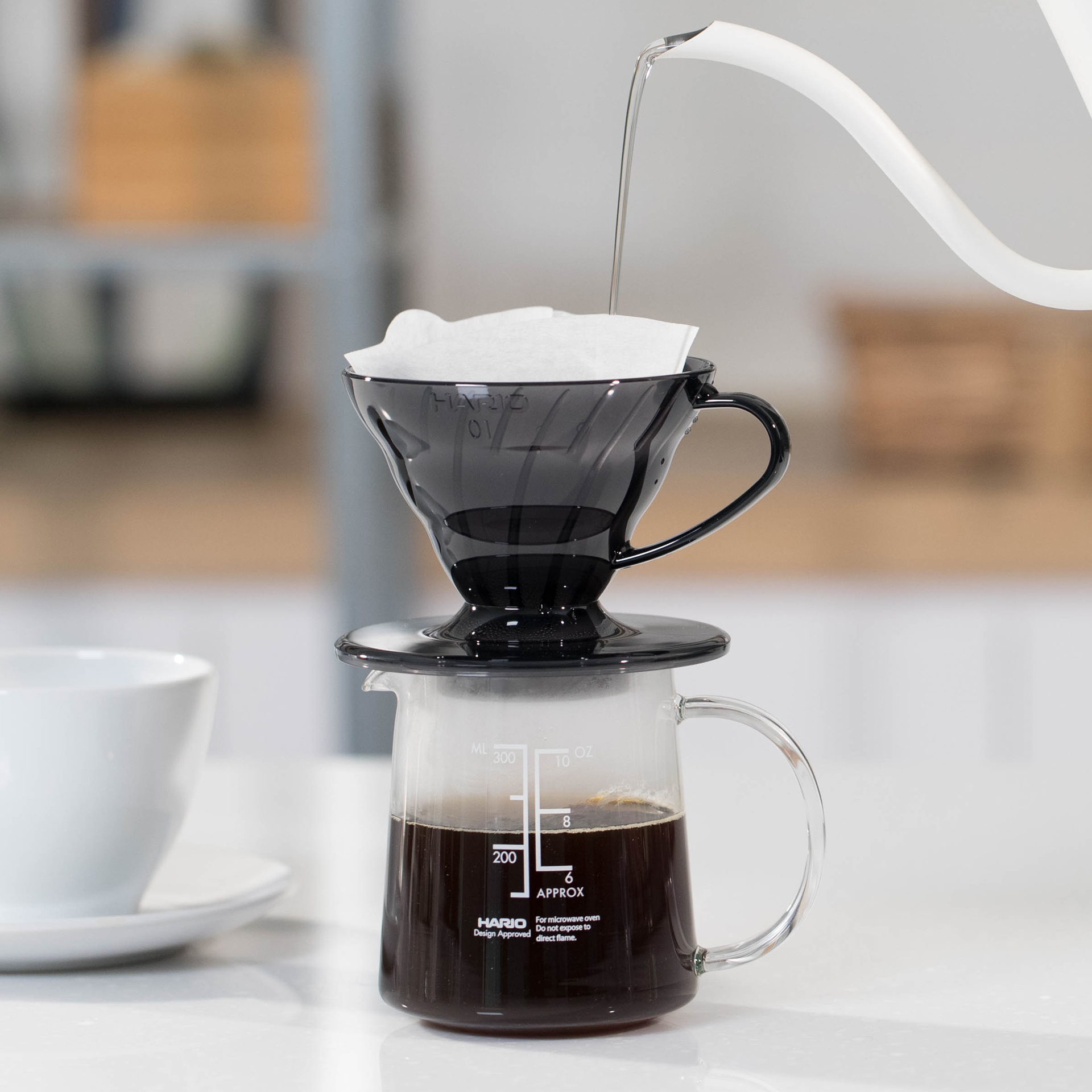 【贈品】HARIO V60 濾杯咖啡壺組