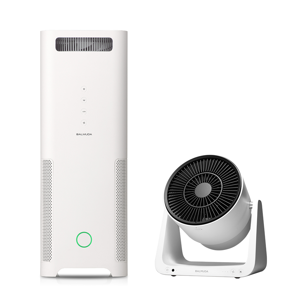 空氣清淨機 + C2循環扇