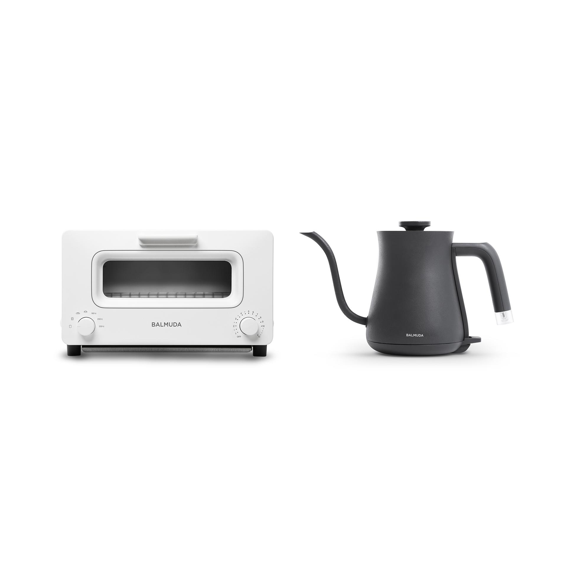 蒸氣烤麵包機+絕美手沖壺