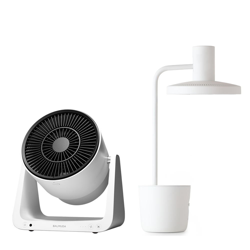 太陽光LED檯燈 + C2循環扇