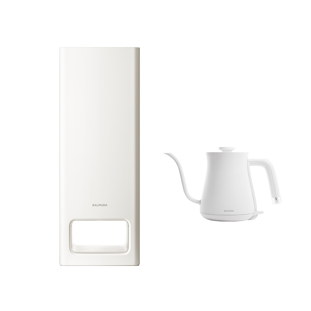 A01D-WH 二代空氣清淨機+絕美手沖壺