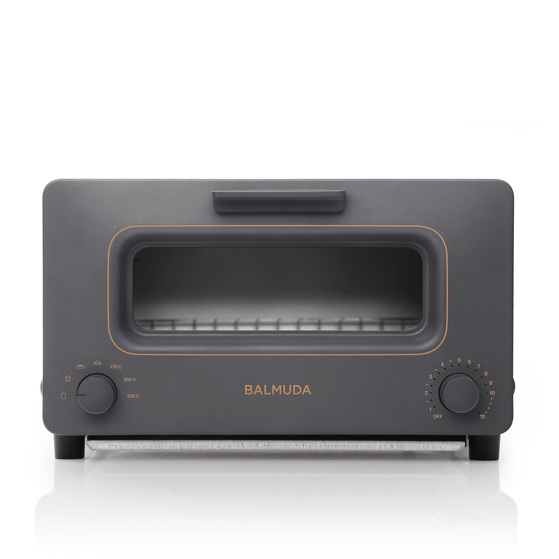 蒸氣烤麵包機 深灰色