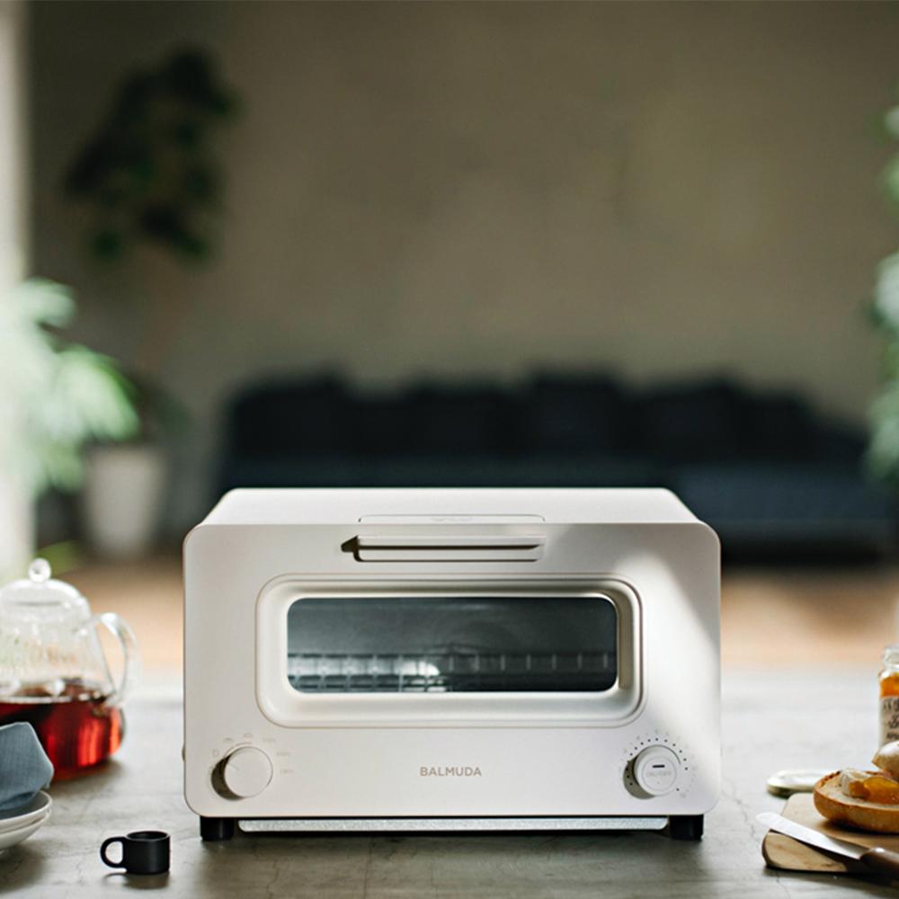 【註冊贈果醬】蒸氣烤麵包機 經典黑/白色